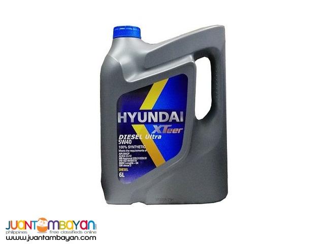 Hyundai XTeer Diesel Ultra 5W40 100% Synthetic - 6 Liters