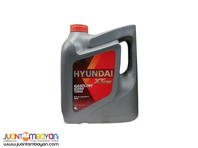 Hyundai XTeer G500 (For Gasoline) Synthetic 4 Liters