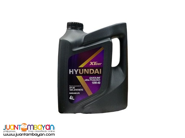 Hyundai XTeer Ultra Protection 10W40 100% Synthetic 4 Liters