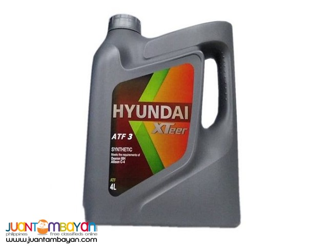 Hyundai XTeer ATF3 Synthetic 4 Liters