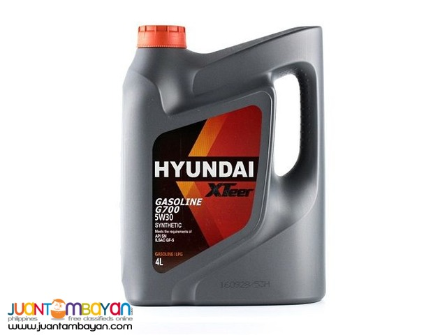 Hyundai XTeer G700 (For Gasoline) 5W30 Synthetic 4 Liters