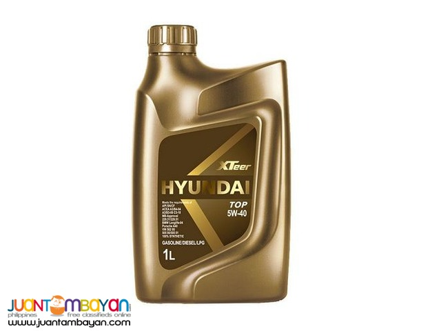 Hyundai XTeer TOP 5W40 100% Synthetic 1 Liter