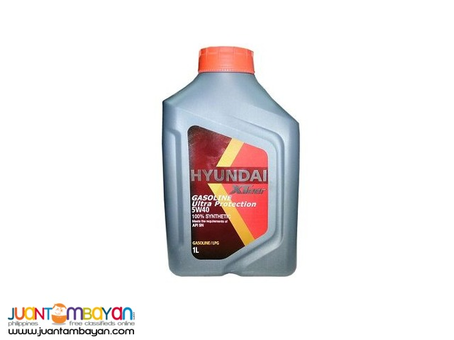 Hyundai Xteer Ultra Protection 5W40 100% Synthetic 1 Liter