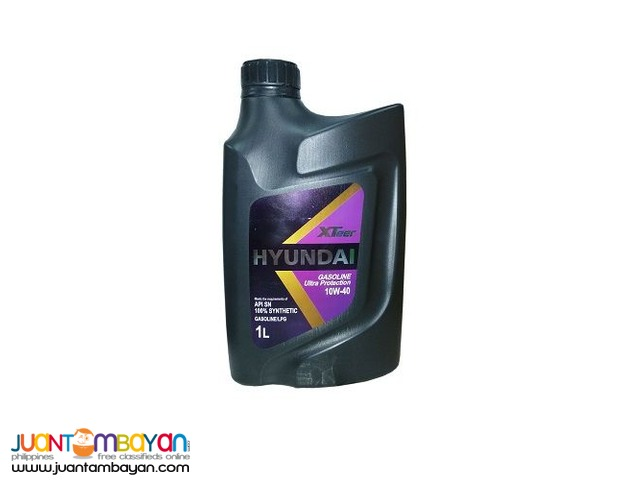 Hyundai XTeer Ultra Protection 10W40 100% Synthetic 1 Liter