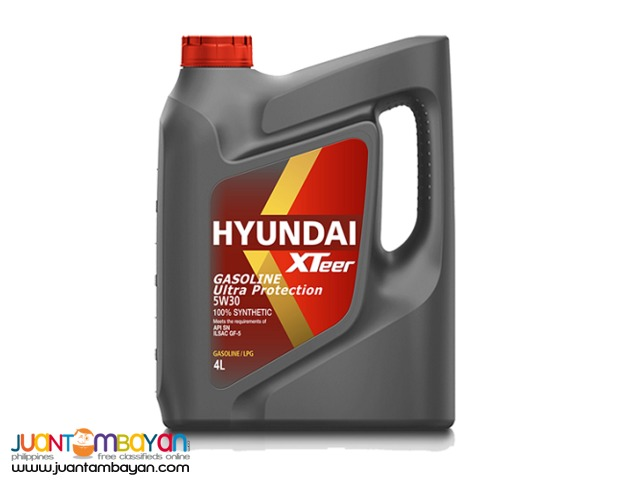 Hyundai XTeer Ultra Protection 5W30 100% Synthetic - 4 Liters