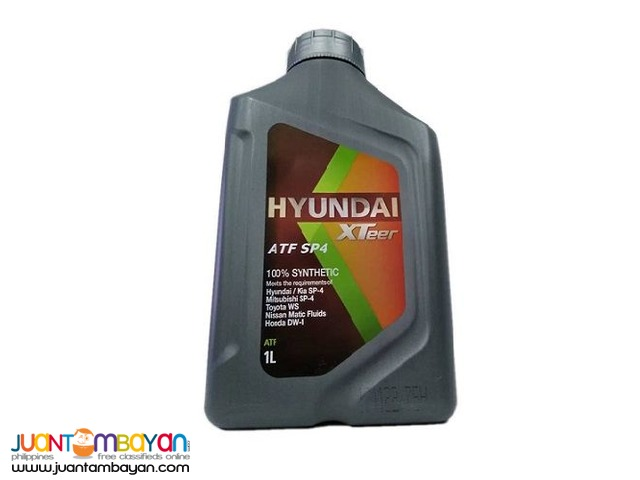 Hyundai Xteer SP4 100% Synthetic - 1 Liter