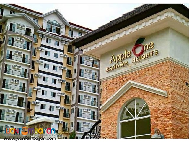 Ready for Occupancy Studio Unit for sale at Apple One Banawa