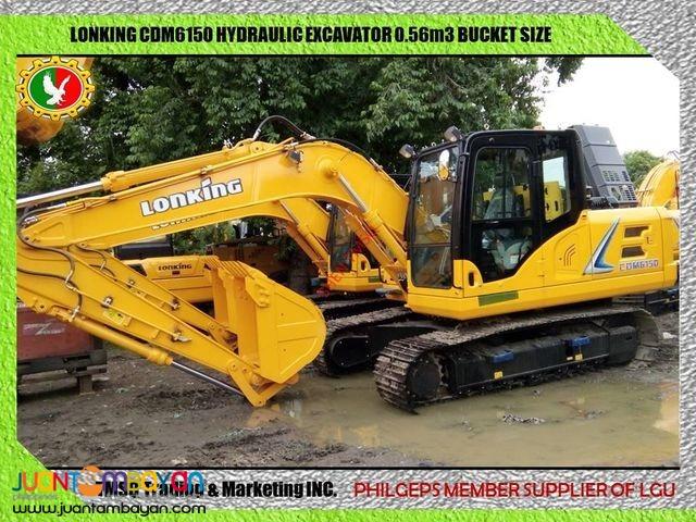 CDM6150 Lonking 1/2 Bucket Size Backhoe Brand new