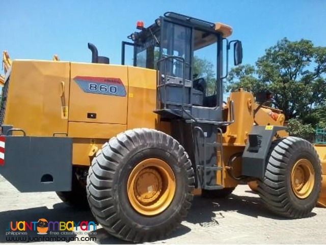 WHEEL LOADER CDM860 3.5 CUBIC LONKING BRAND NEW