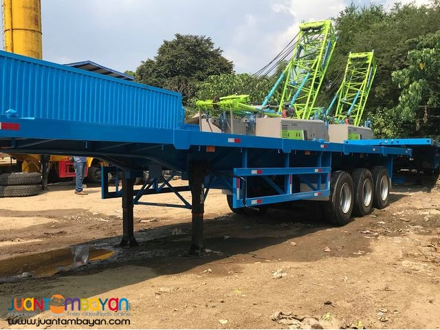TRAILER TRI-AXLE FLATBED 40FT 45 TONS BRAND NEW