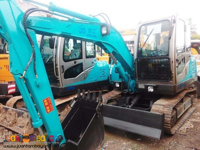 BACKHOE EXCAVATOR JG608 CHAIN TYPE 0.3 CUBIC BRAND NEW