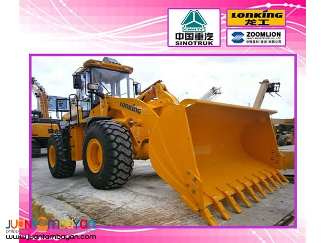 LONKING CDM856 Wheel Loader  (Weichai Engine)
