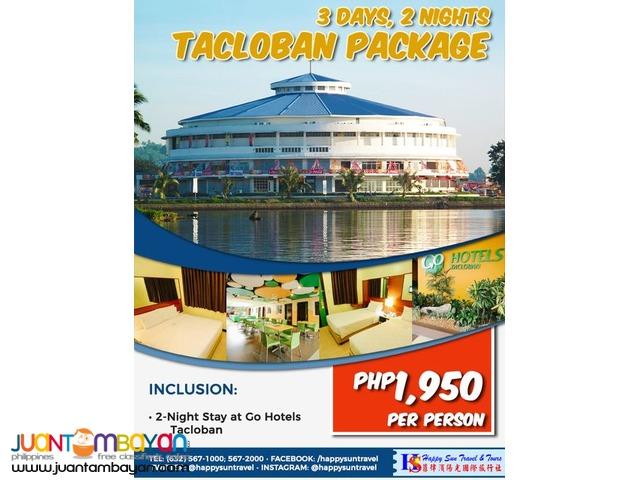 3D2N Tacloban Package