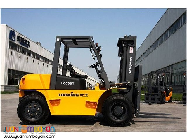 LG50DT Lonking Brand new Forklift 5Tons Diesel