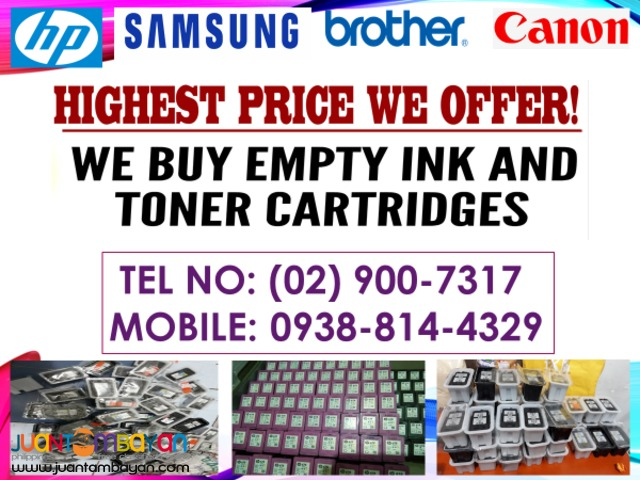 MATAAS NA PRICE_BUYER OF EMPTY INK AND TONER CARTRIDGES