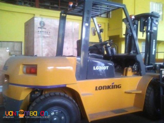 Forklift Lonking LG70DT Diesel Brand new