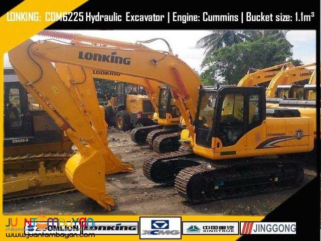 CDM6225 Hydraulic Excavator (Orig.Cummins-6BT)
