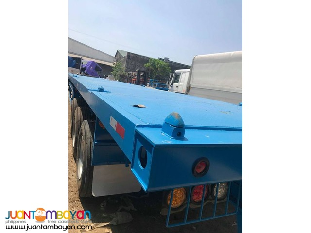 TRI-AXLE FLATBED TRAILER 40FT 45TONS