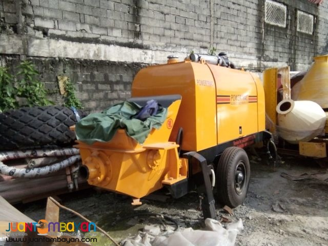 Portable Concrete Pump 30 meter High
