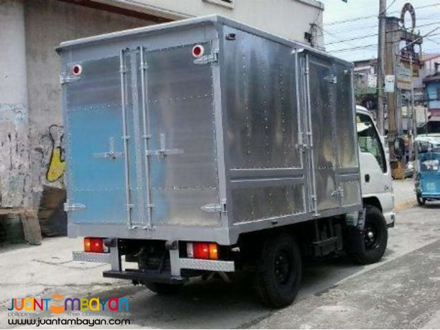 Aluminum Van 14ft. 6wheeler