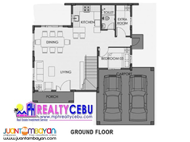 CAMELLA RIVERDALE GRETA MODEL HOUSE FOR SALE TALAMBAN CEBU CITY