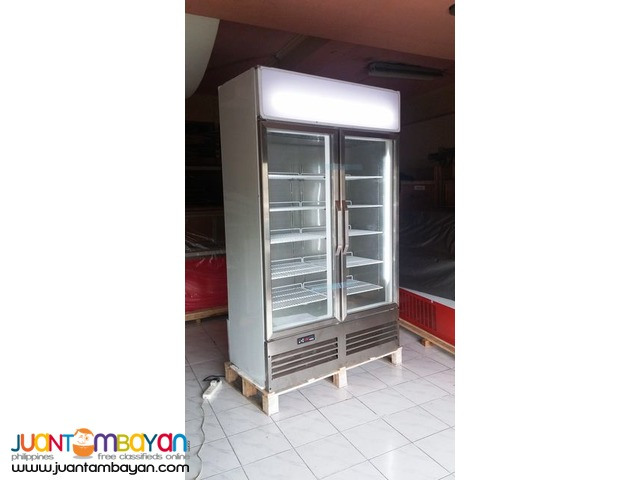 2 Door Upright Display Freezer