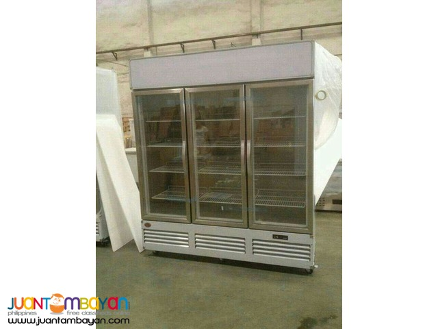 3 Door Upright Display Freezer