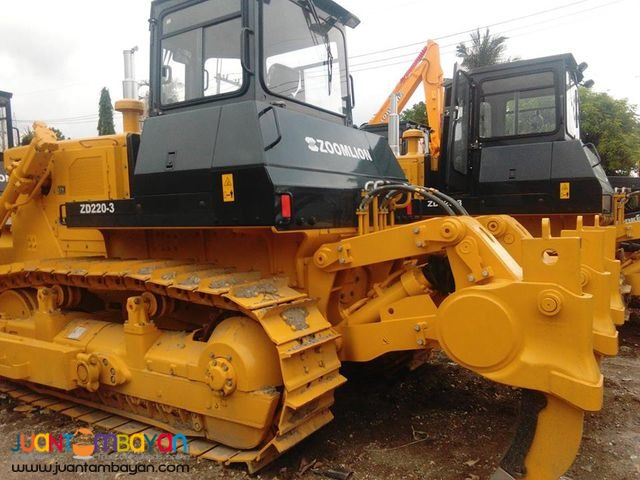 With ripper Bulldozer ZD220-3 Zoomlion Bulldozer