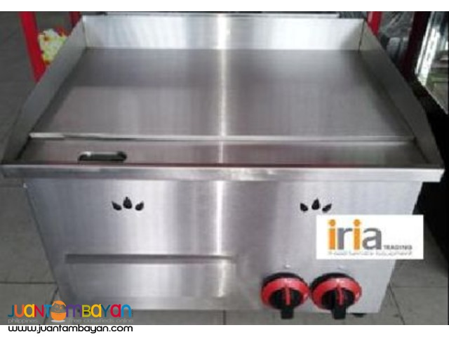 Gas Griddle (2 Burners)