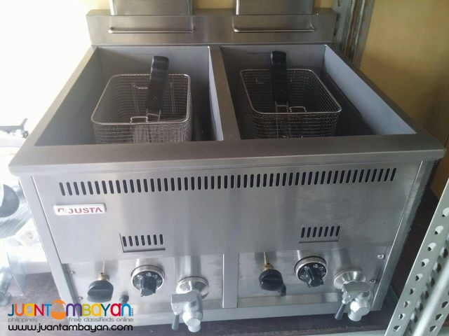 High Quality Gas Deep Fryer (DOUBLE)