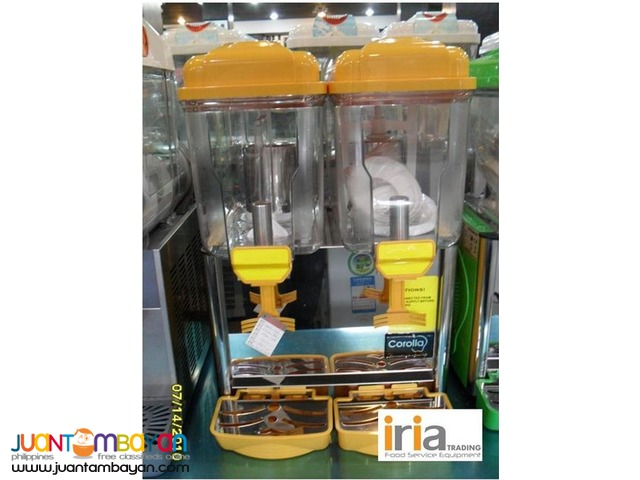 Juice Dispenser 2tubs (Brand Corolla) Brand New