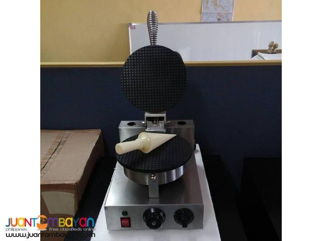 Single Plate Electric Cone Maker!