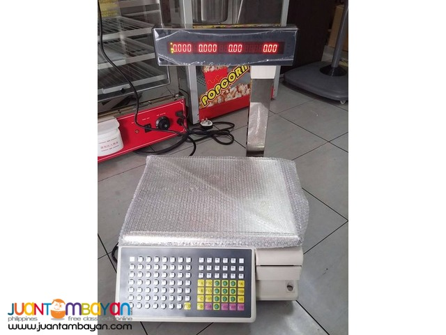 Weighing Scale with Barcode Printer (Brand New)