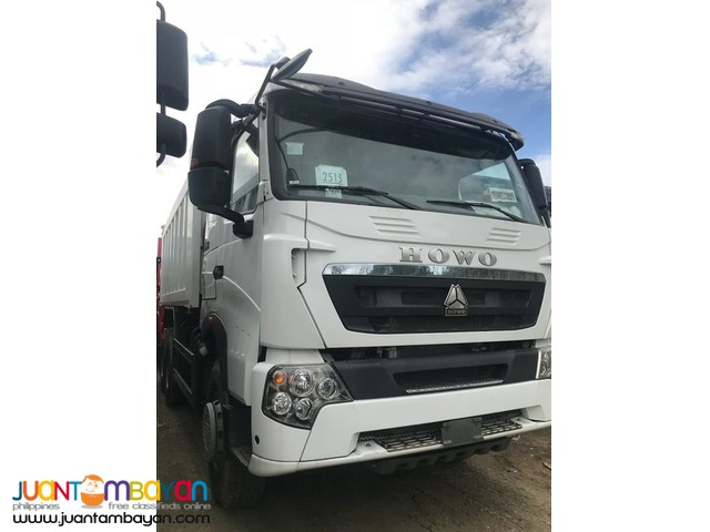 Howo A7 Euro 4 Dump Truck 10 Wheeler 20cubic 380 hp For Sale