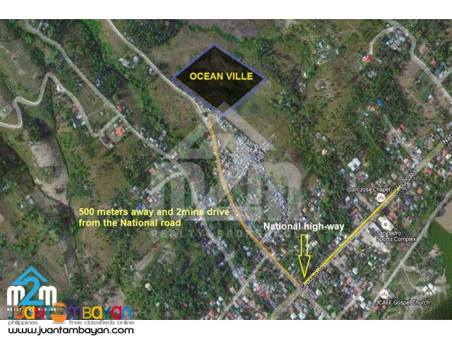 Lot For Sale in Oceanville Subdivision