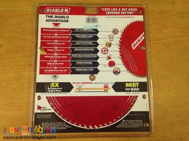 Freud D1060X Diablo 10-inch 60-tooth ATB Fine Finish Saw Blade