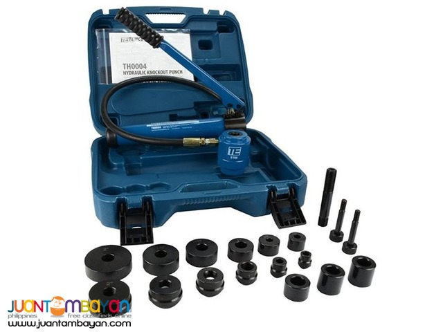 TEMCo TH0004 2-inch to 2-inch Hydraulic Knockout Punch Set