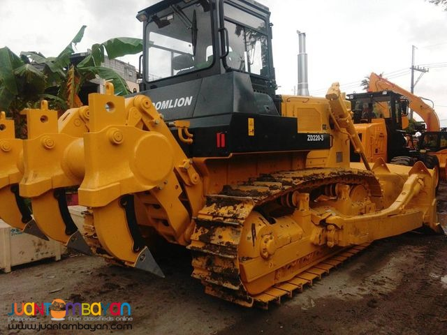 With ripper ZD220-3 Zoomlion Brand new Bulldozer