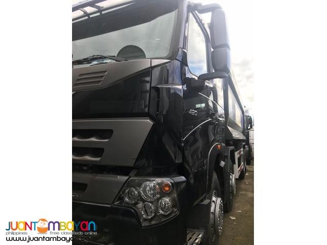 BRAND NEW HOWO A7 12W DUMP TRUCK 420 HP EURO 4