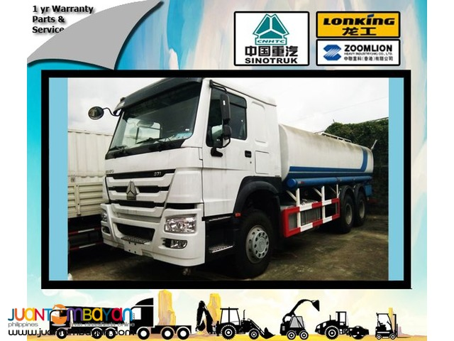 Sinotruk 10 wheeler HOWO Brand new Water Truck