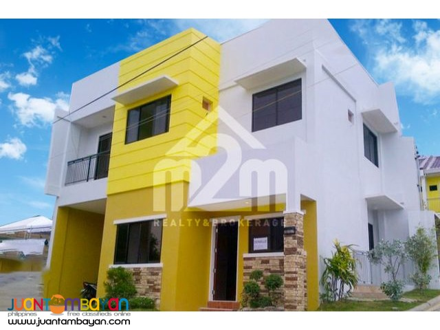 South City Homes Donelle Model a 2-STOREY TOWNHOUSE