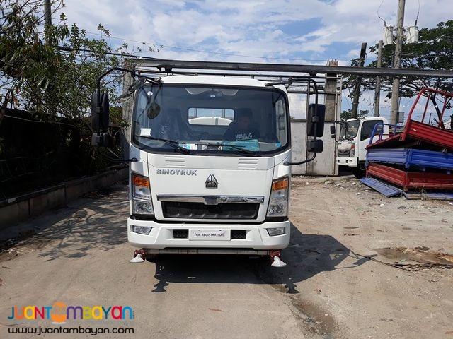 Homan Water Truck 4KL Sprinkler 6wheeler Sinotruk