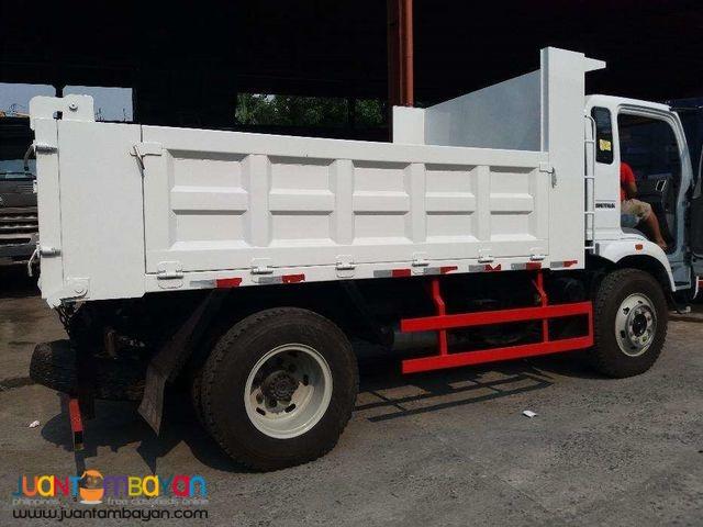 Homan Dump truck 6.5cubic Sinotruk 6wheeler
