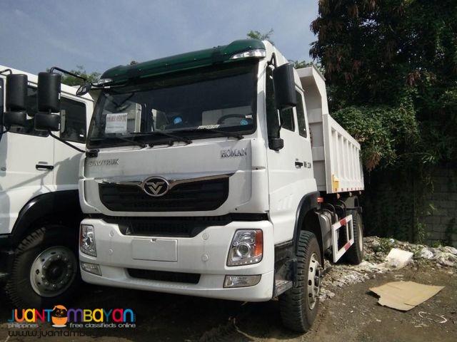 Euro4 H5 Dump Truck 12cubic 6 wheeler Sinotruk