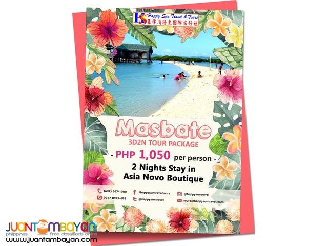 3D2N Masbate Package