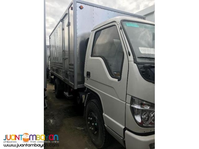 6wheeler Homan Aluminum Van