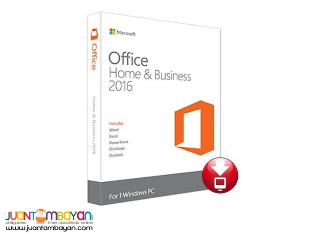 MICROSOFT OFFICE 2013 / 2016 HOME AND BUSINESS