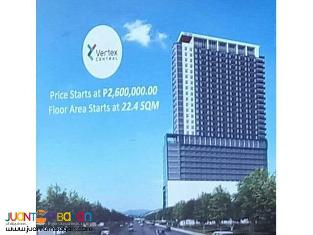 Affordable Condo Units for sale at Vertex Central in Cebu City