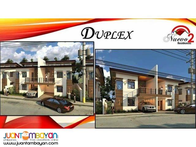 For sale duplex house at binangonan