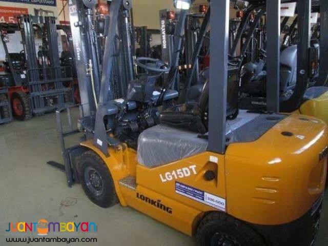 LG15DT Lonking Brand new Diesel Forklift 1.5Tons